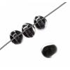 Lamp Bead Teardrop Mini 25pcs 7mm Cold Black
